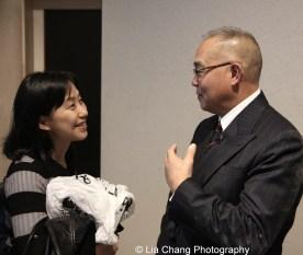 Tomomi Ono, Arlan Huang. Photo by Lia Chang
