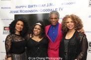 Norma Jean Wright, Dhonna Goodale, André De De Shields and Alfa Anderson. Photo by Lia Chang