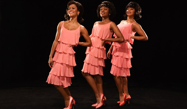 Lucy St Louis, Cherelle Wiliams and Tanya Nicole Edwards in Motown The Musical. Photo by Hugo Glendinning