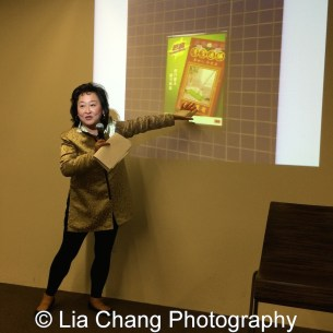 Joanna C. Lee at the Museum of Chinese in America on January 30, 2016. Photo by Lia Chang