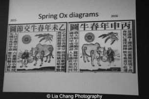 Decoding the Pocket Chinese Almanac. Photo by Lia Chang