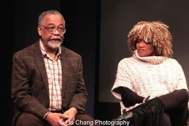 Musical Director William Foster McDaniel and director Leslie Dockery. Photo by Lia Chang