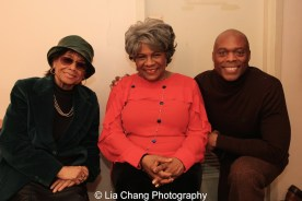 Micki Grant, Tina Fabrique and Erich McMillan-McCall. Photo by Lia Chang