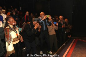 Fans of Micki Grant at The York Theatre. Photo by Lia Chang