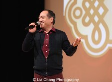 Sesame Street's Alan Muraoka at the Metropolitan Museum of Art's annual Lunar New Year festival on February 6, 2016 in New York. Photo by Lia Chang