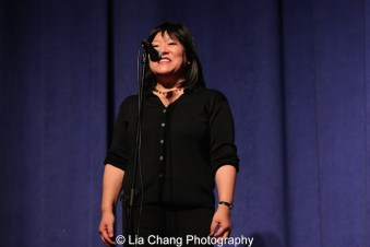 Ann Harada at the P.S. 87 Pan Asian Lunar New Year Celebration at the William T Sherman School in New York on January 29, 2016. Photo by Lia Chang