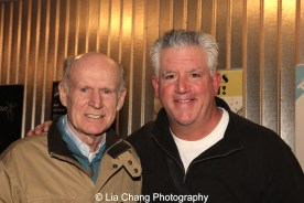 James Murtaugh and Gregory Jbara. Photo by Lia Chang