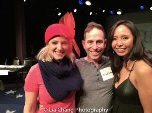 Laura Heywood, Garth Kravits and Emily Borromeo. Photo by Lia Chang