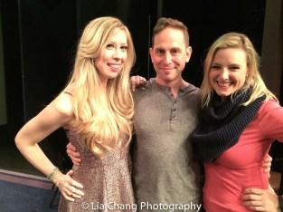 Emily McNamara, Garth Kravits and Laura Heywood. Photo by Lia Chang