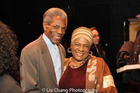 André De Shields and Tina Fabrique. Photo by Lia Chang