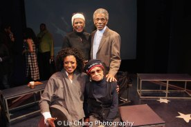 Marva Hicks, Hope Clarke, André De Shields and Micki Grant. Photo by Lia Chang