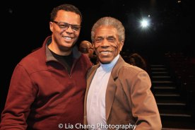 Raun Ruffin and André De Shields. Photo by Lia Chang