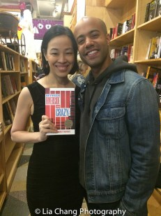 "Lia Chang and Sean Carvajal, who recently appeared in the Studio Theatre's production of ""Between Riverside and Crazy"" at the Drama Book Shop in New York on April 5, 2016. Photo by Garth Kravits"