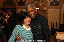 Ann Harada and André De Shields. Photo by Lia Chang