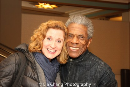 Christiane Noll and André De Shields. Photo by Lia Chang