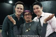 Jeffrey Omura, Jojo Gonzalez, James Yaegashi. Photo by Lia Chang