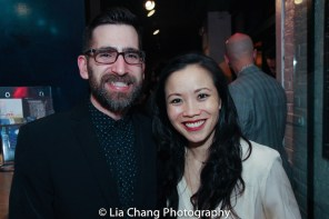 John Kurzynowski and Tina Chilip. Photo by Lia Chang