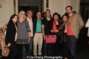 Jose Llana and company. Photo by Lia Chang