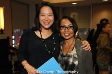 Christine Toy Johnson and Emilya Cachapero. Photo by Lia Chang