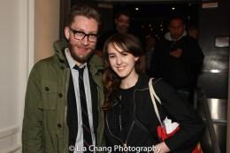 Cody Owen Stine and Emily Elliott. Photo by Lia Chang