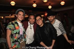 Emilio Ramos, Enrico Rodriguez, Kelvin Moon Loh and Jeigh Madjus. Photo by Lia Chang