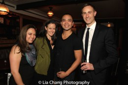 Patricia Llana, Kimberly Grigsby, Jose Llana and Eric Rose. Photo by Lia Chang