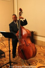 Double Bassist Anthony J. Mhoon at BTN's 30th Anniversary Bruncheon at the Palmer House Hilton in Chicago on August 9, 2016. Photo by Lia Chang