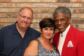 Ed Tracy, Denise McGowan Tracy and André De Shields. Photo by Lia Chang