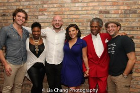 Michael Ferraro, Doug Peck, Christine Mild, André De Shields and Bernard Balbot. Photo by Lia Chang