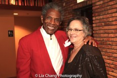 André De Shields and Bobbye Natkin. Photo by Lia Chang