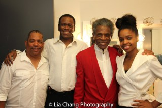Anthony J. Mhoon, Robert Reddrick, André De Shields and Taylor Moore. Photo by Lia Chang