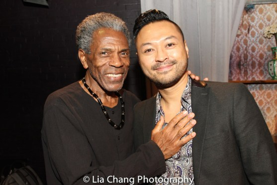 André De Shields and Billy Bustamante. Photo by Lia Chang