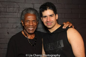André De Shields and Denis Lambert. Photo by Lia Chang