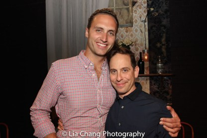 Ben Maters and Garth Kravits. Photo by Lia Chang