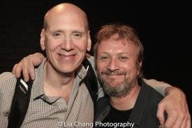 Greg Carter and Gary Smoot. Photo by Lia Chang