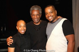 Kyle Garvin, André De Shields, Christopher George Patterson. Photo by Lia Chang