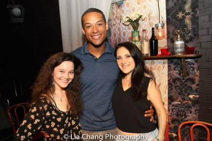 Sarah Smithton, Kyle Carter and Jodi Bluestein. Photo by Lia Chang