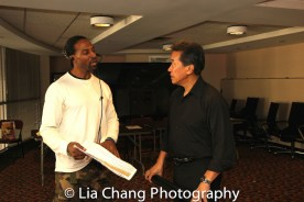 Demetrius Angelo and Peter Kwong at the 4th Annual Urban Action Showcase and Expo at the AMC Empire 25 Times Square in New York on November 12, 2016. Photo by Lia Chang