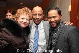 Becky Ann Baker, Ruben Santiago-Hudson and Jason Dirden. Photo by Lia Chang