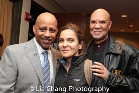 Ruben Santiago-Hudson, Darnell Martin, Warrington Hudlin. Photo by Lia Chang