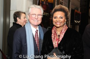Grahame Pratt and Leslie Uggams. Photo by Lia Chang