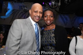 Ruben Santiago-Hudson and Sharon Washington. Photo by Lia Chang