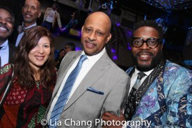 Cori Thomas, Ruben Santiago-Hudson and Chad L. Coleman. Photo by Lia Chang