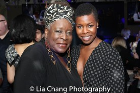 Ebony Jo-Ann and Roslyn Ruff. Photo by Lia Chang