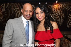 Ruben Santiago-Hudson and Carra Patterson. Photo by Lia Chang
