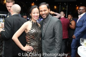 Lia Chang and Jason Dirden