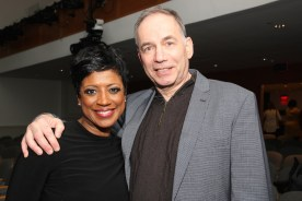 Marva Hicks and Andrew Levine. Photo by Lia Chang