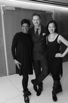 Marva Hicks, Clarke Thorell and Lia Chang. Photo by Garth Kravits