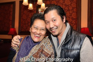 Linda Faigo-Hall and Victor Lirio. Photo by Lia Chang