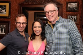 Michael Borowski, Ali Ewoldt and her manager Ted Schachter. Photo by Lia Chang